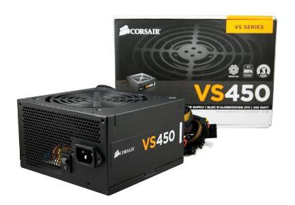 POWER SUPPLY CORSAIR VS450 450W