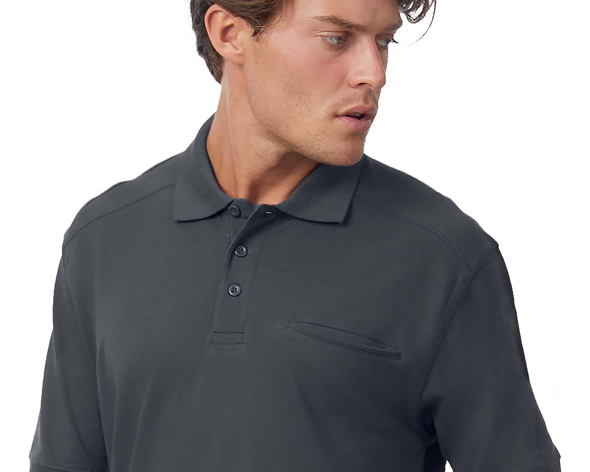 Skill Pro | B&C Pro Workwear Pocket Polo