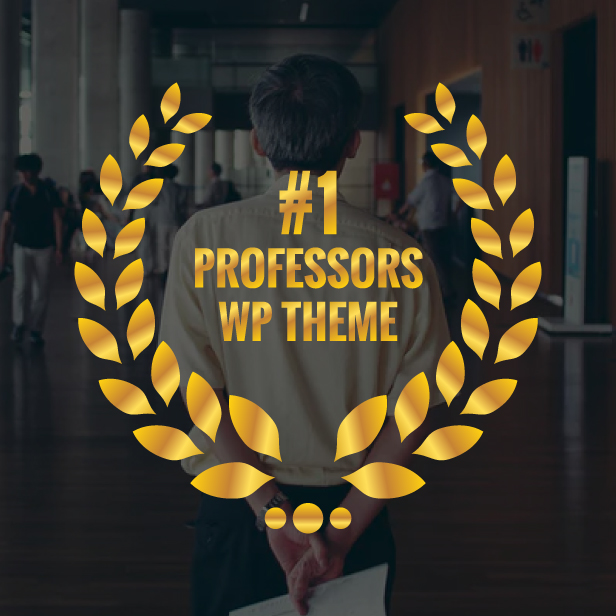 number one professors wp theme
