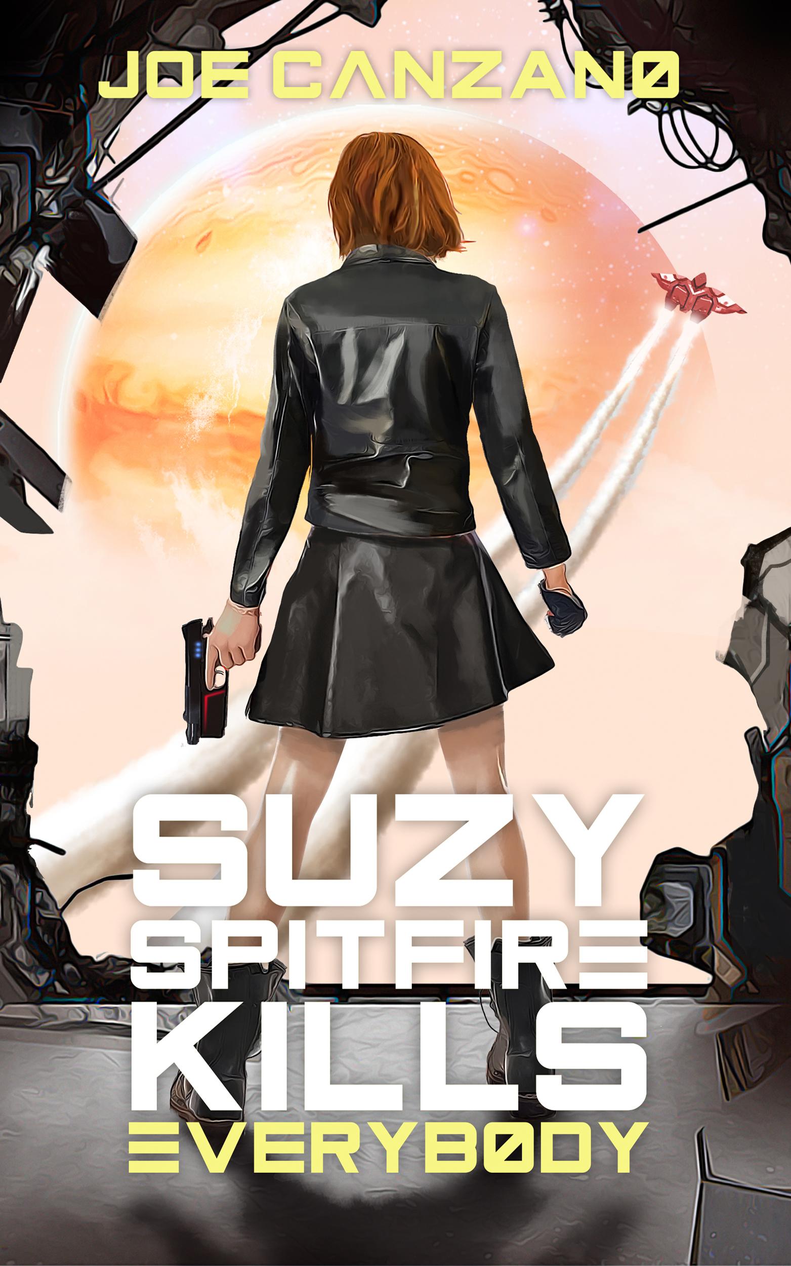 Susy Spitfire e Cover Final