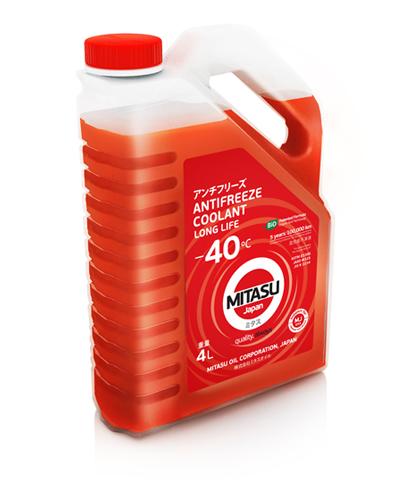 Антифриз MITASU RED -40 4л