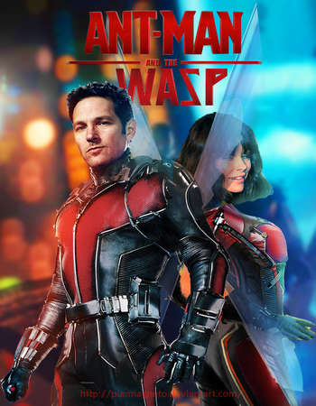 Ant-Man And the Wasp 2018 Hindi Dual Audio Movie 800MB DVDRip