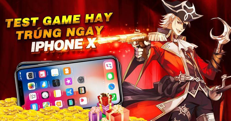 Cơ hội trúng Iphone X & Note 8 khi tham gia Alpha Test game Chiến Hồn Mobile