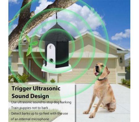 Outdoor Ultrasonic Anti Bark Deter Annoying Control Pet Dog No Barking