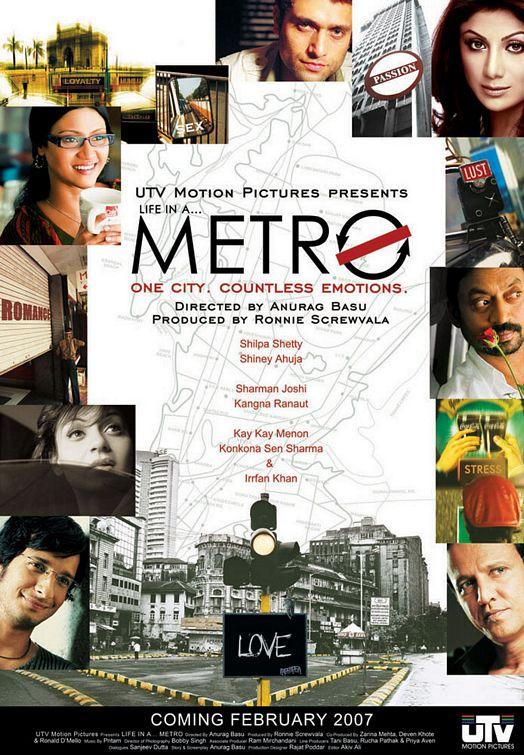 Life in a Metro (2007) Hindi 720p DVDRip 900MB