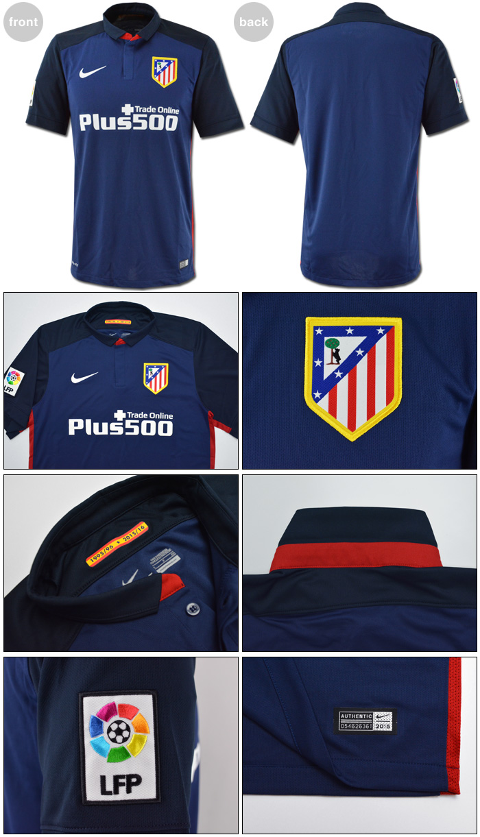 This listing is for the brand new official AwayShort-Sleeved Soccer Jersey    Football Shirt   Calcio Trikot   Maglia Gara   Maillot of Atletico Madrid! a33577ee6