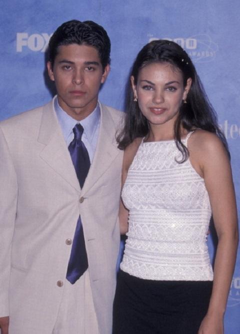Wilmer Valderrama and Mila Kunis