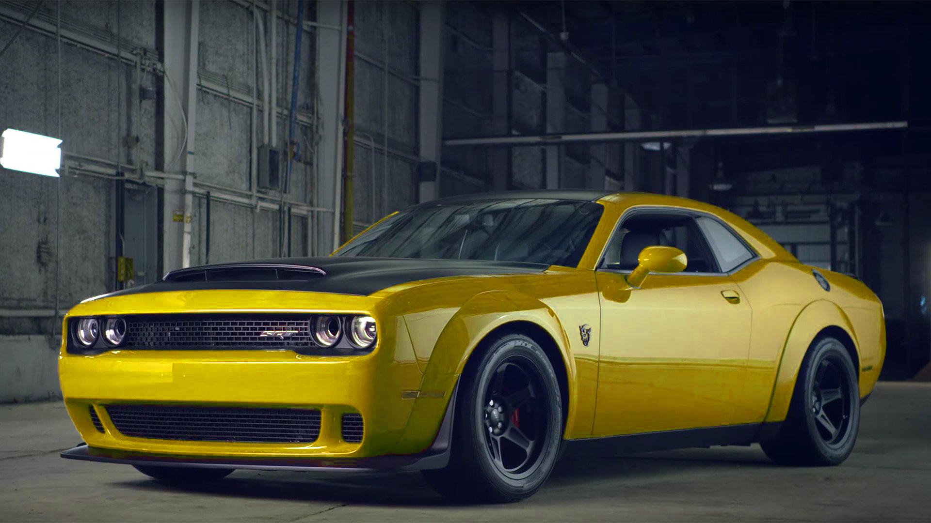 Dodge Demon Colors >> Pitch Black w Graphics Pkg Pictures | SRT Hellcat Forum