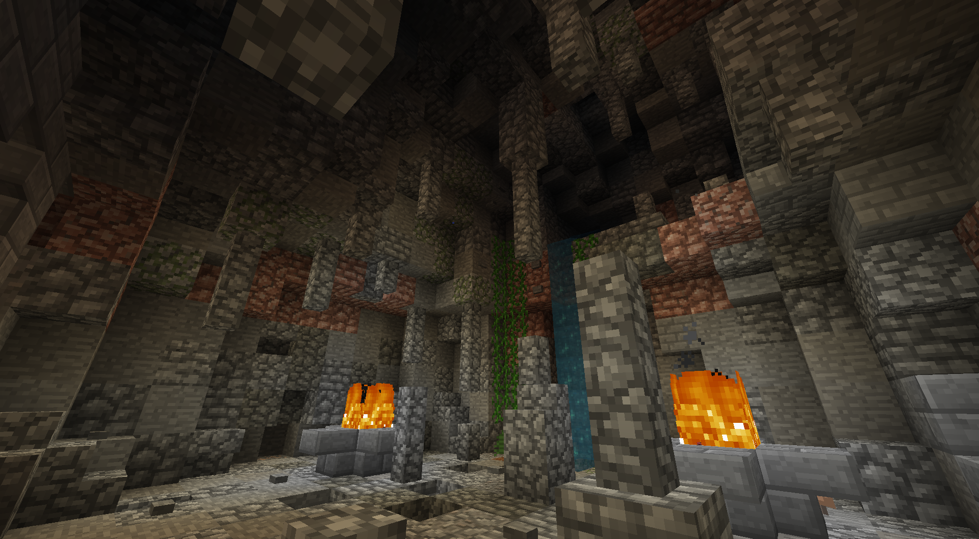 Cave without shaders
