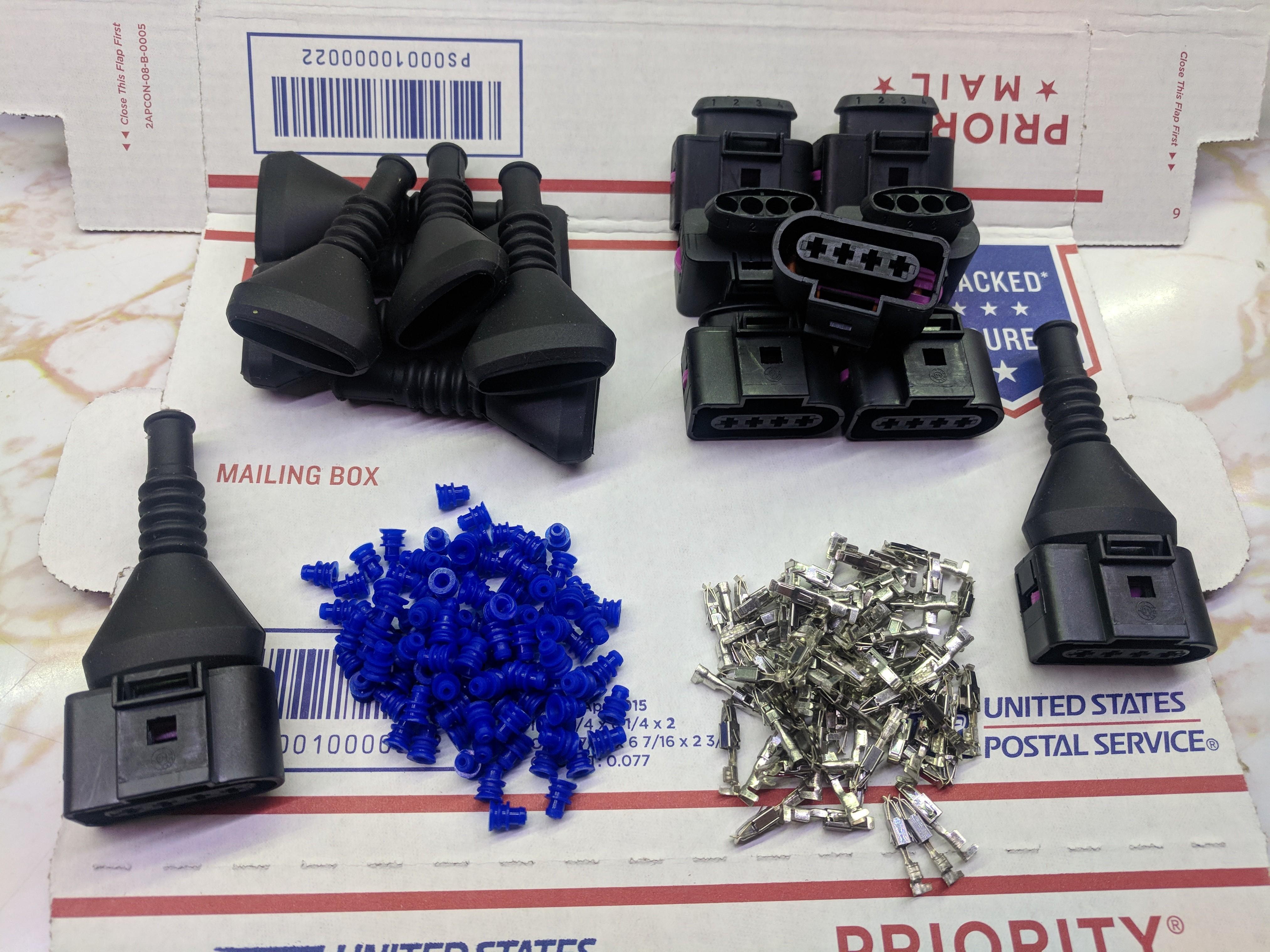 Fourtitude.com - Ignition Coil Repair Connectors