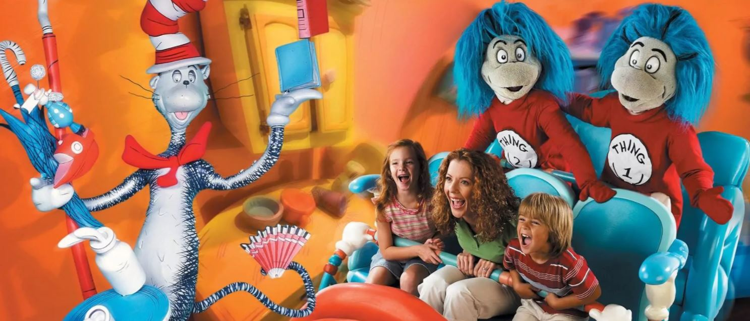 The Cat in the Hat ride at Universal Orlando Resort