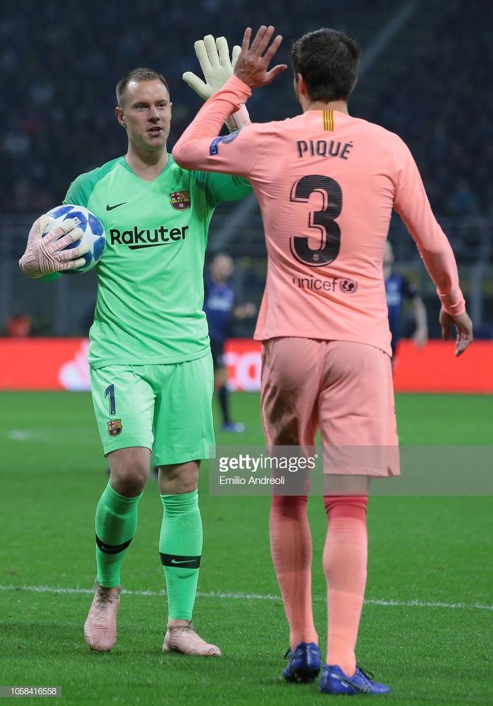 صور مباراة : إنتر ميلان - برشلونة 1-1 ( 06-11-2018 )  Y9