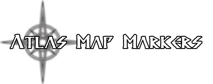 Atlas Map Markers - (by kronixx) at Skyrim Special Edition