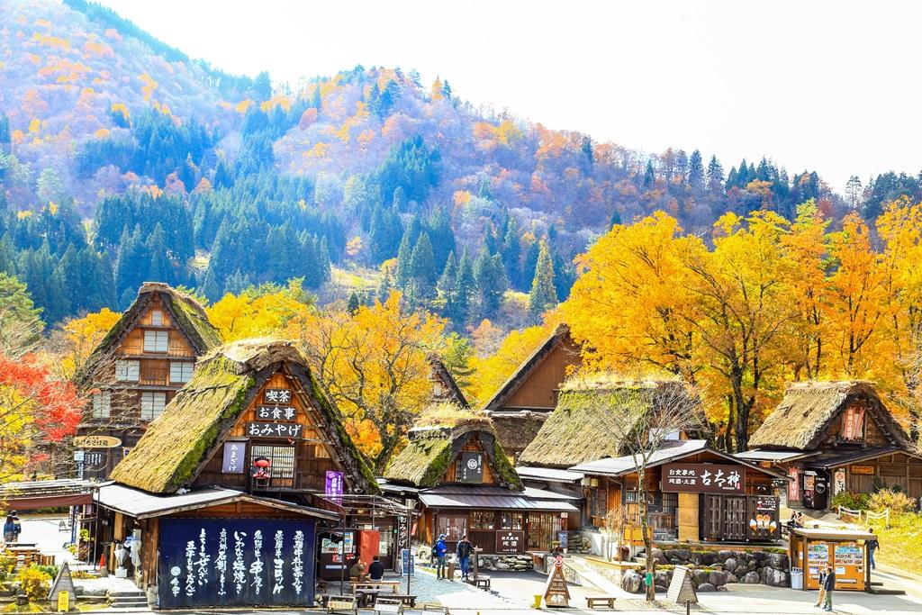 Shirakawago-Gassho-Village