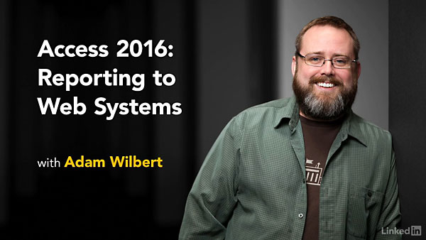 Lynda   Access 2016  Reporting To Web Systems