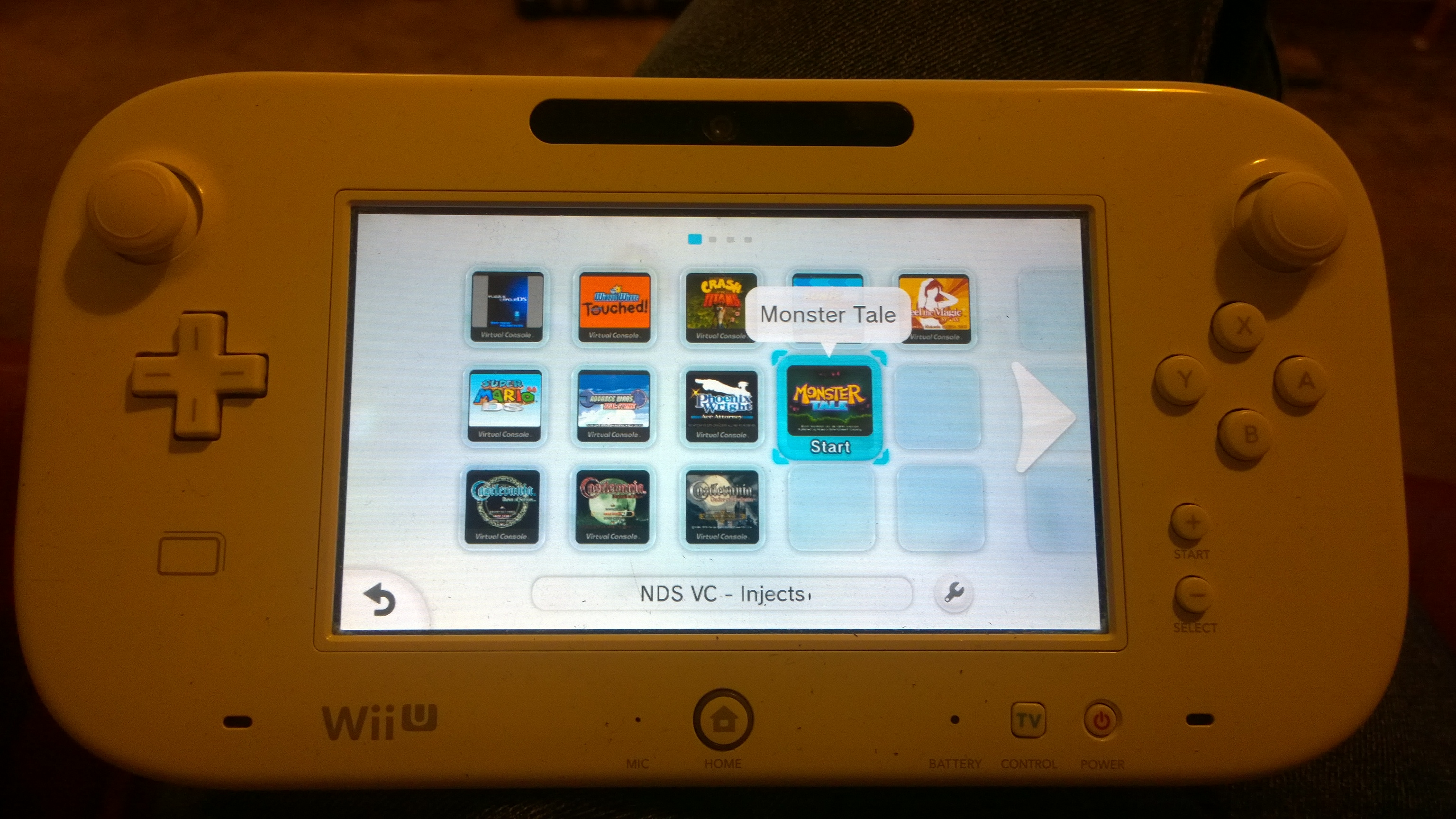 Wii U Nintendo Ds Virtual Console Inject Guide Vc Injection Original Img