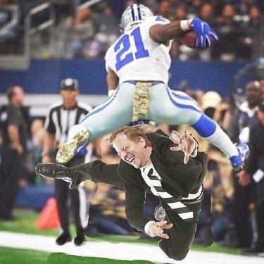 Zeke over Goodell