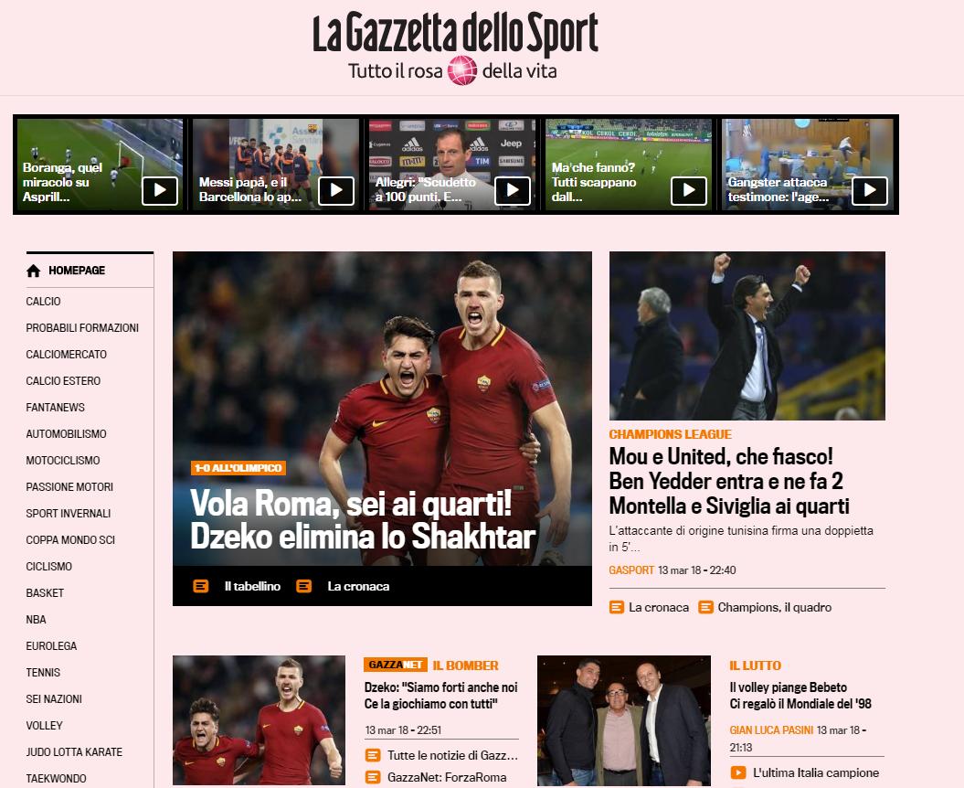 Супер Джеко и неадекватный Феррейра. Обзор итальянских СМИ после матча Рома - Шахтер - изображение 2