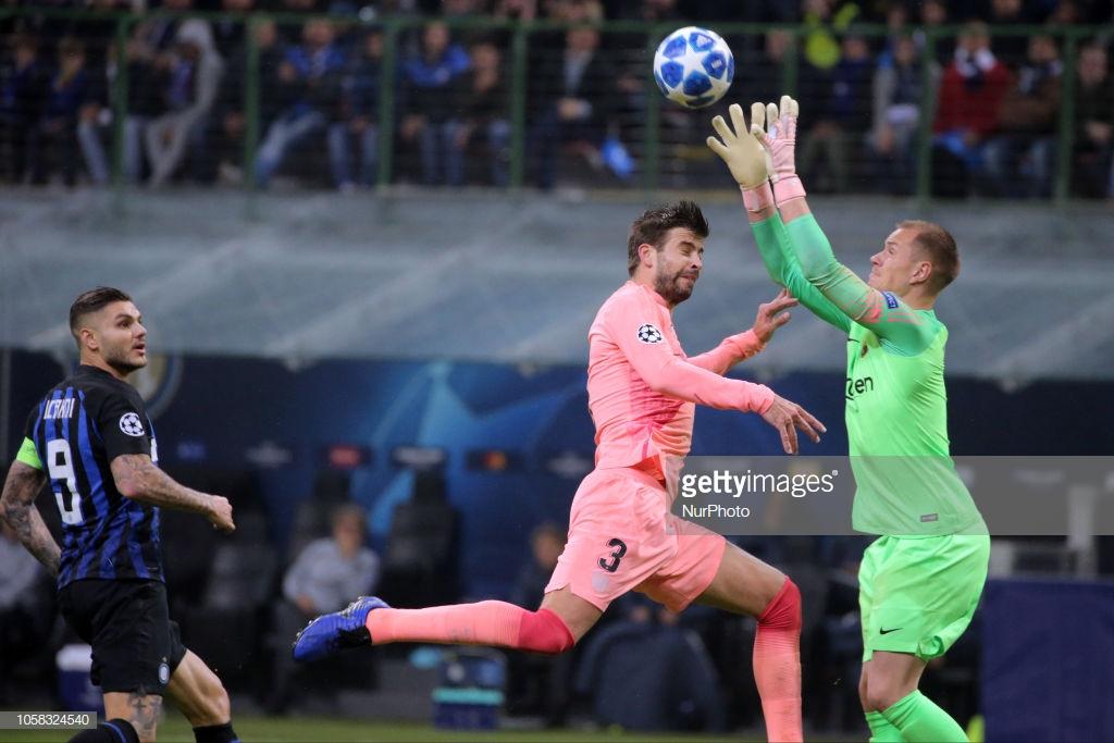 صور مباراة : إنتر ميلان - برشلونة 1-1 ( 06-11-2018 )  Y4