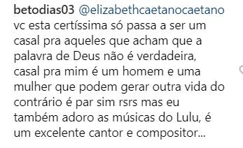 No Uruguai, Lulu Santos posta foto com o namorado e gera uma tremenda polêmica em sua mídia social!