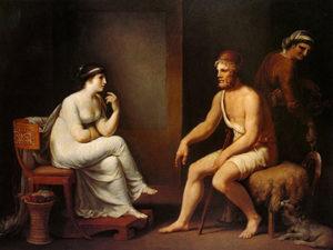 O encontro de Penélope com Ulisses