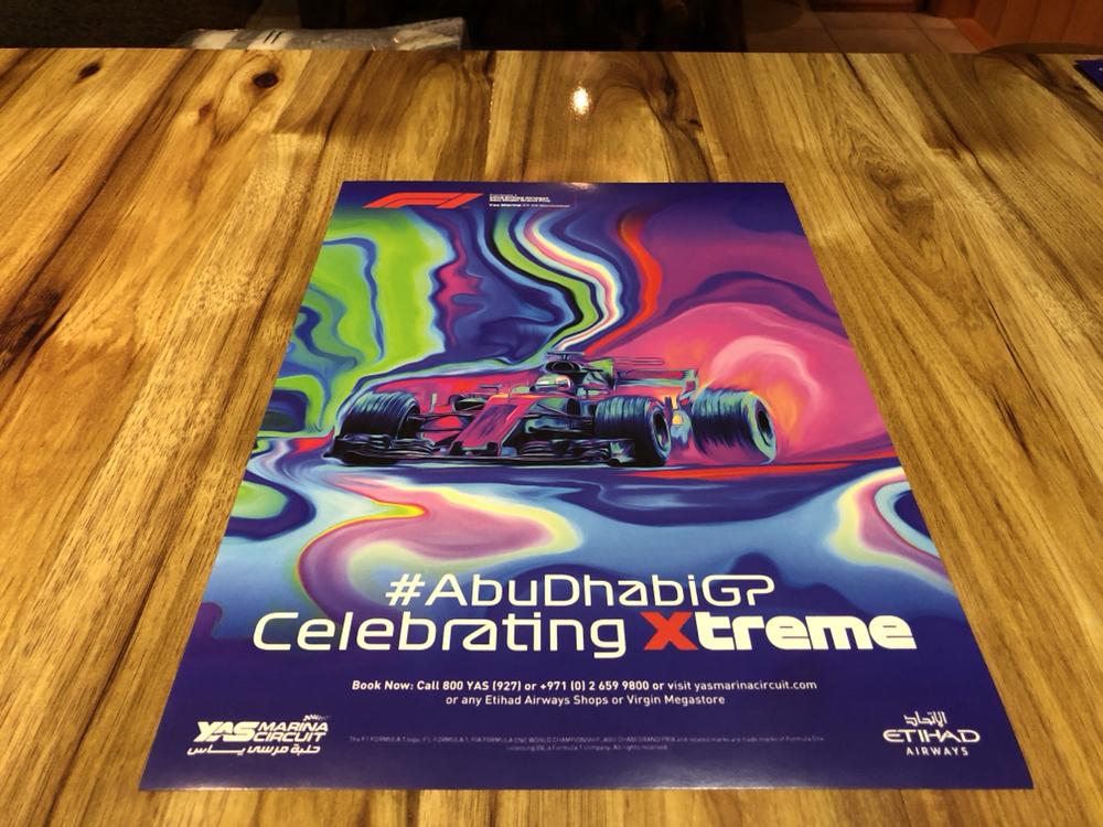 FORMULA 1 F1 GRAND PRIX RACE POSTER DVD