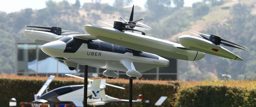 Uber flying New taxis