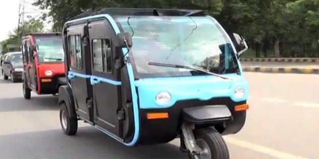 Electric Rickshaws in Pakistan