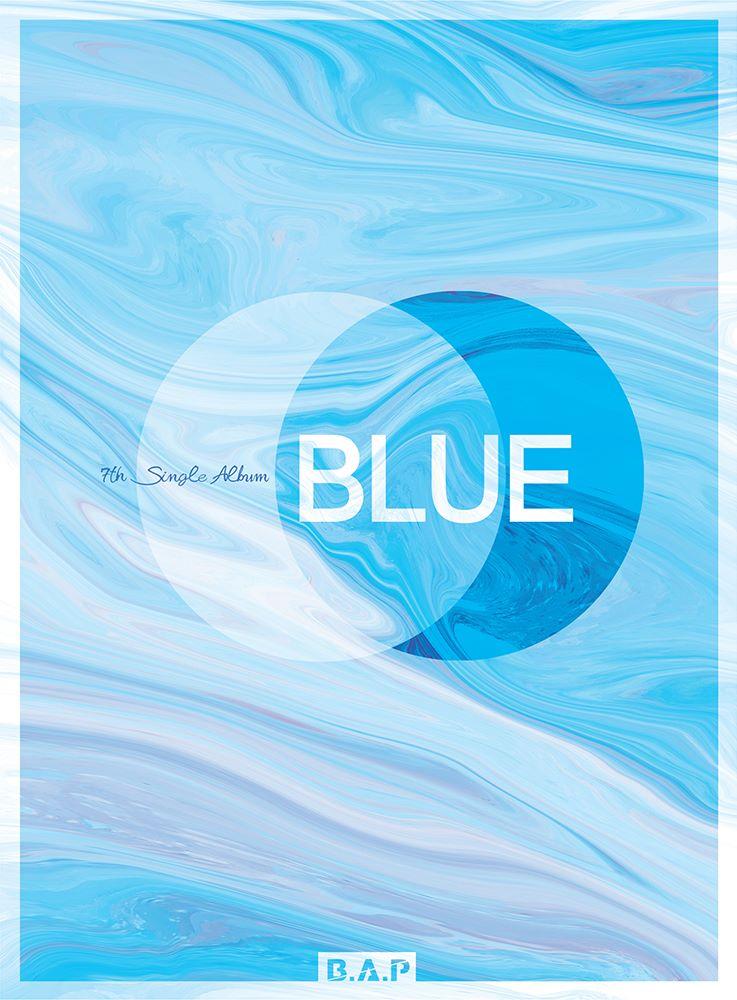 Imagini pentru b.a.p blue album cover