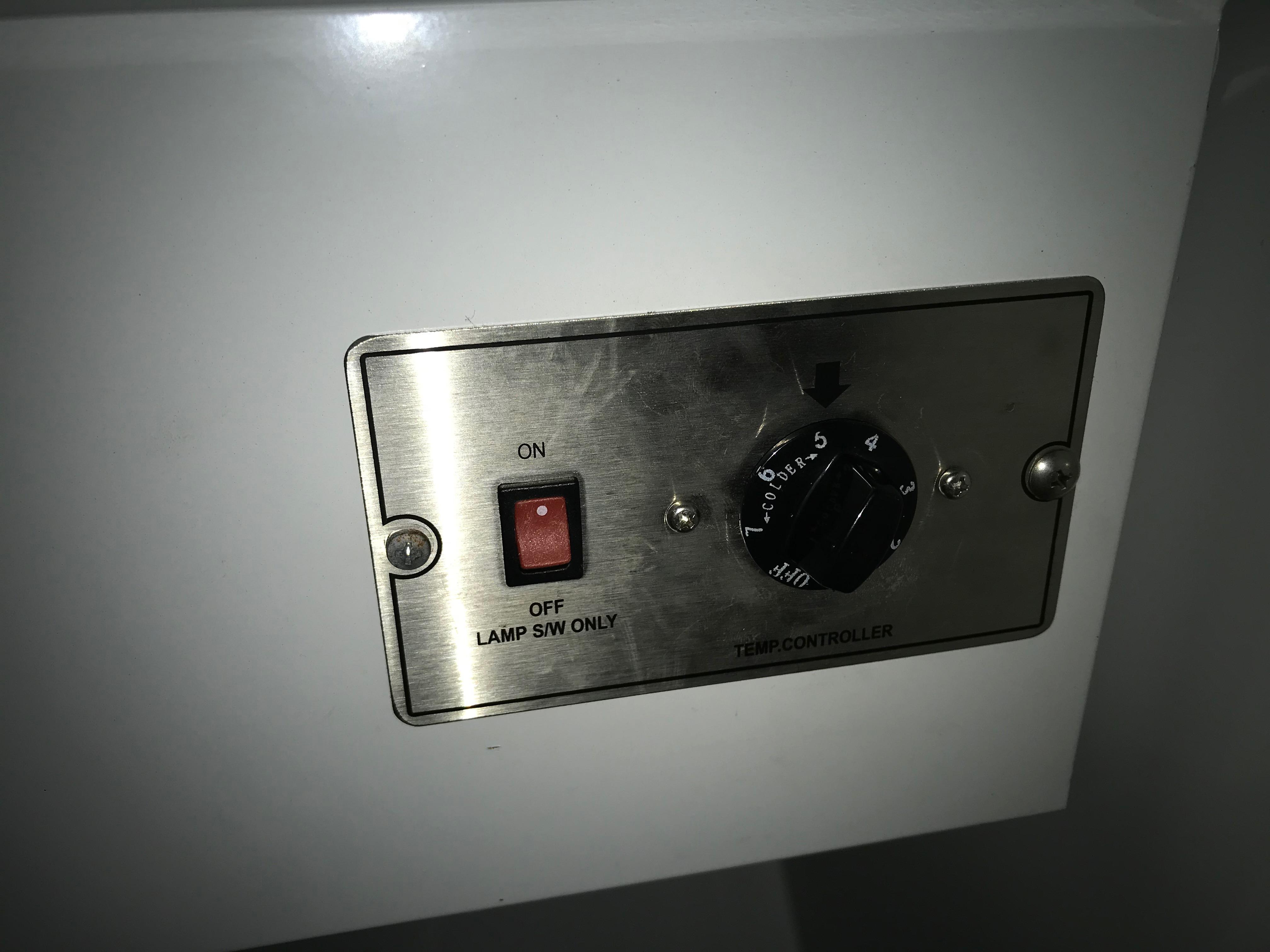 Commercial Fridge Compressor And Compressor Fan Not Starting