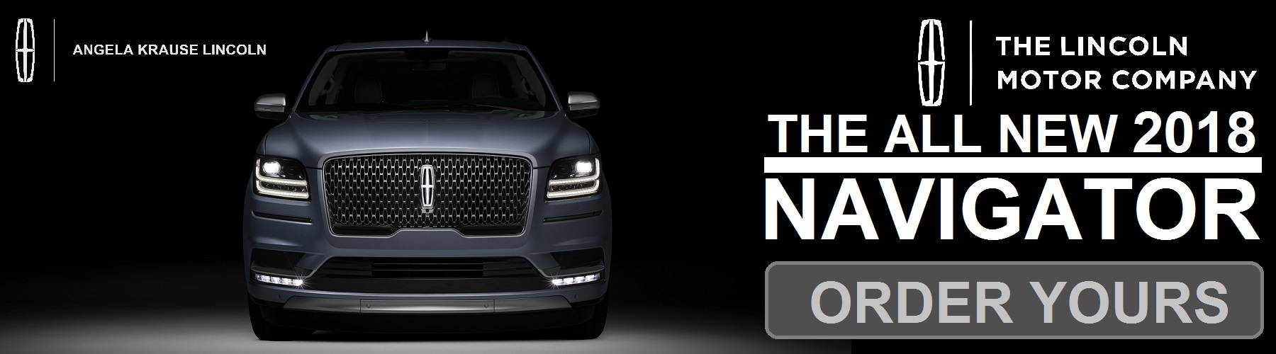 Test Drive The All New 2018 Lincoln Navigator