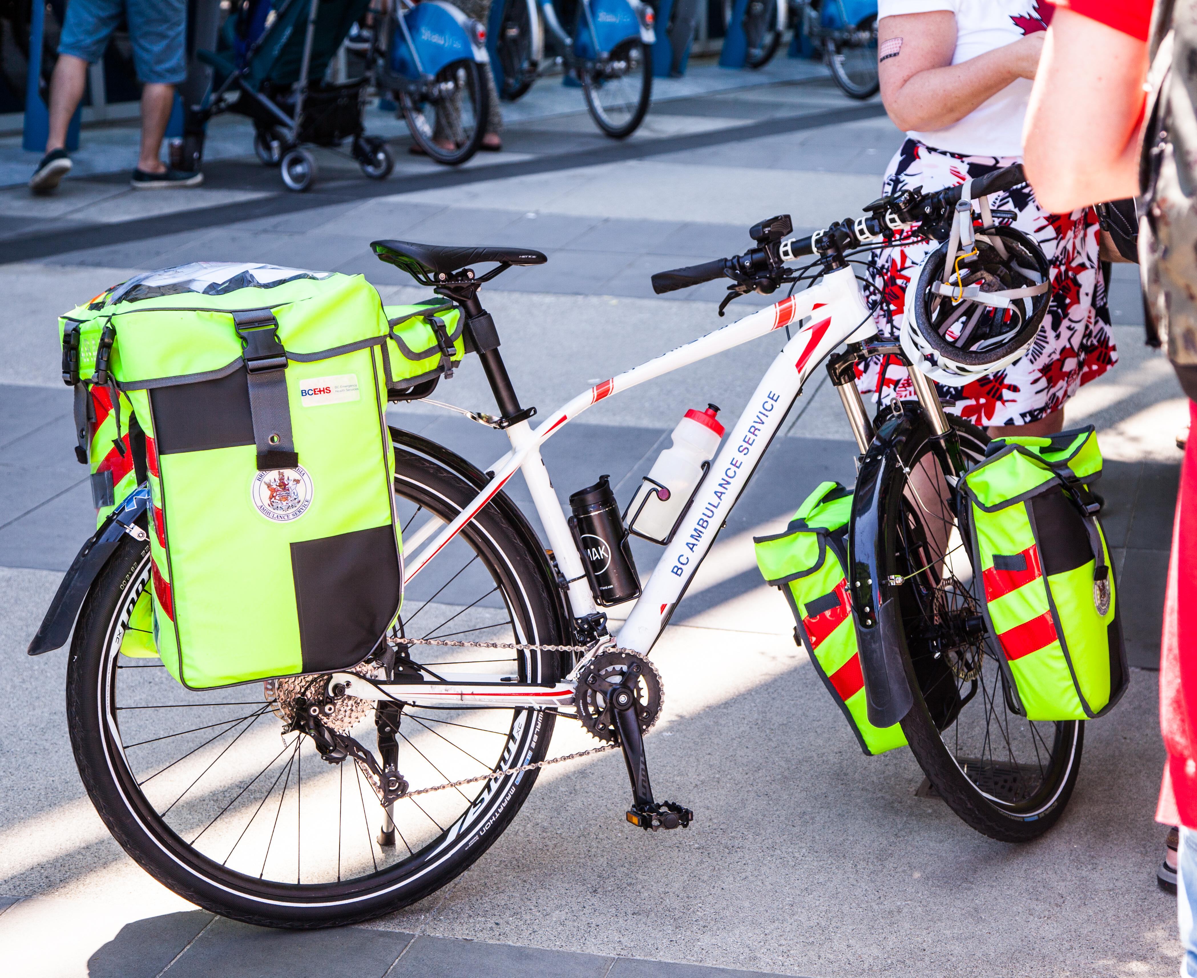 Ambulance on bikes