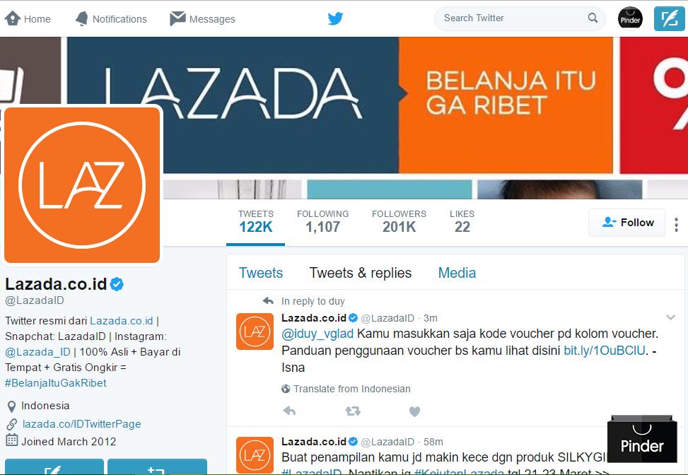 Social Media (Twitter)