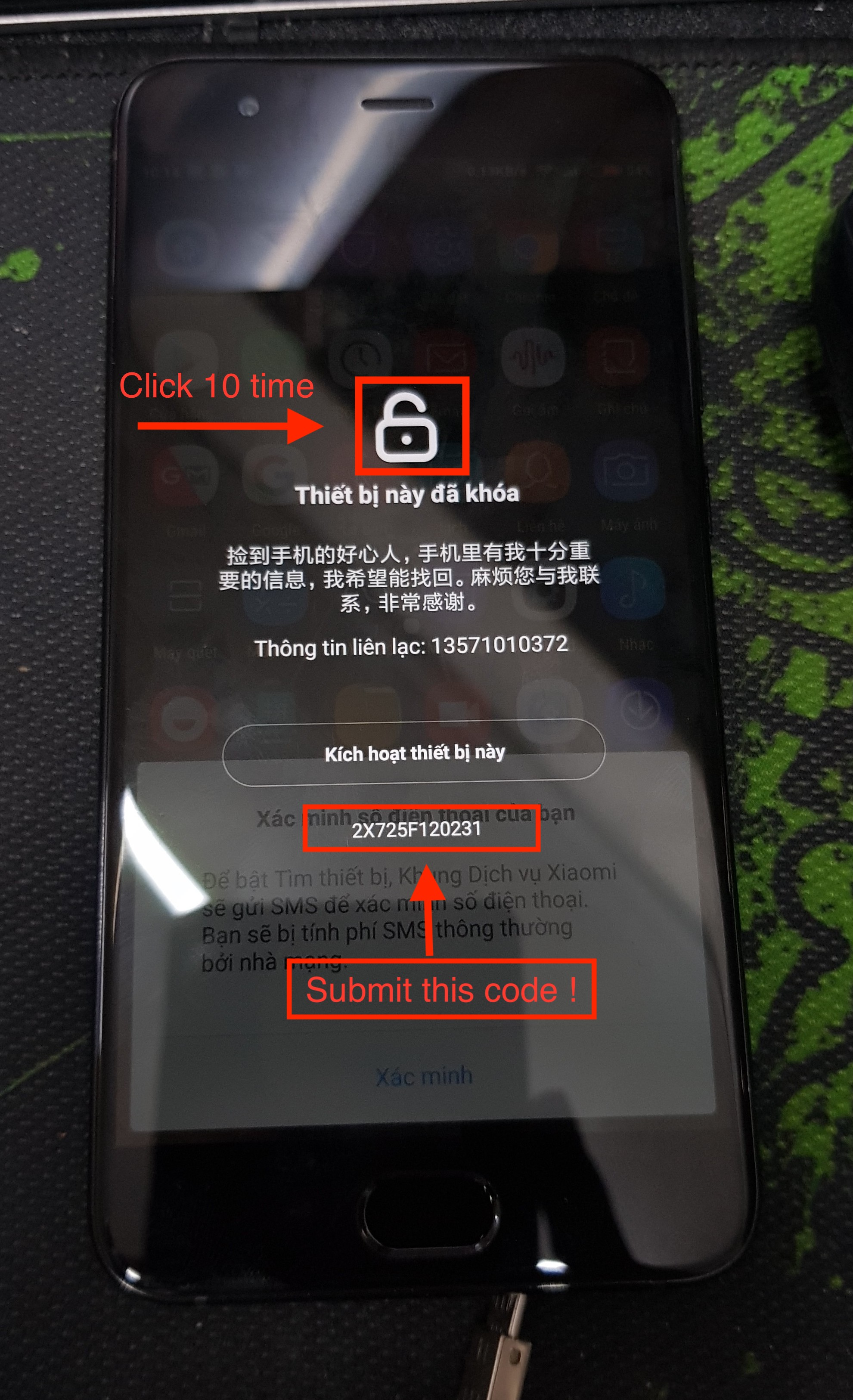 Remove Xiaomi Account MiCloud