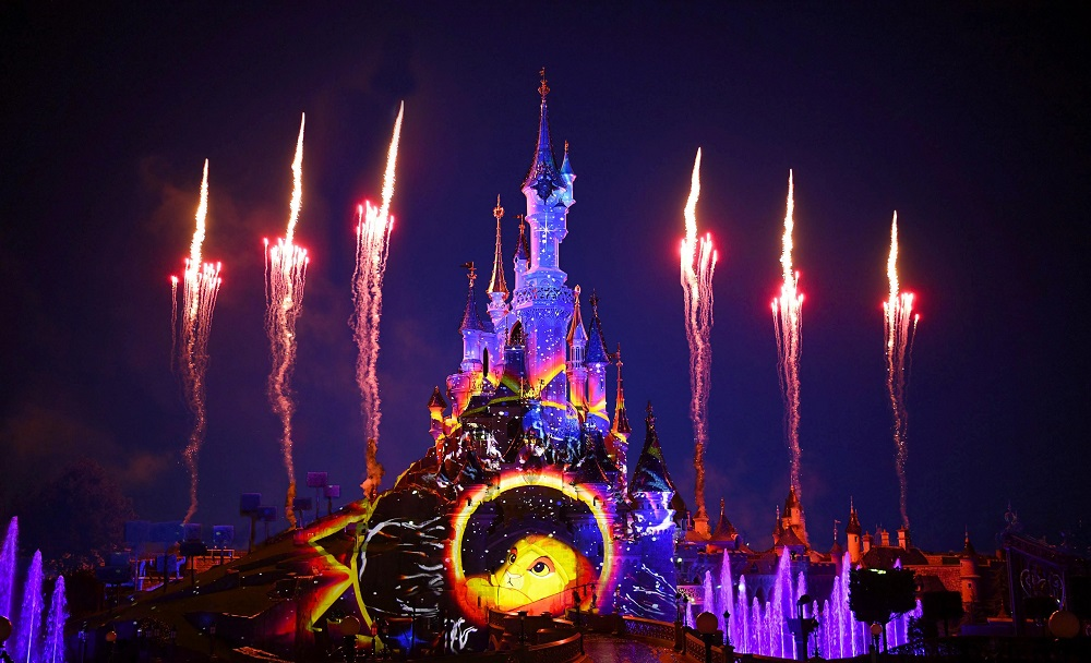 Disneyland Paris Fireworks Display