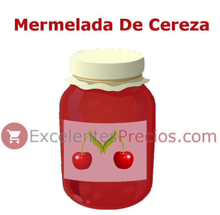 Tarro de Mermelada de Cereza, receta mermelada casera