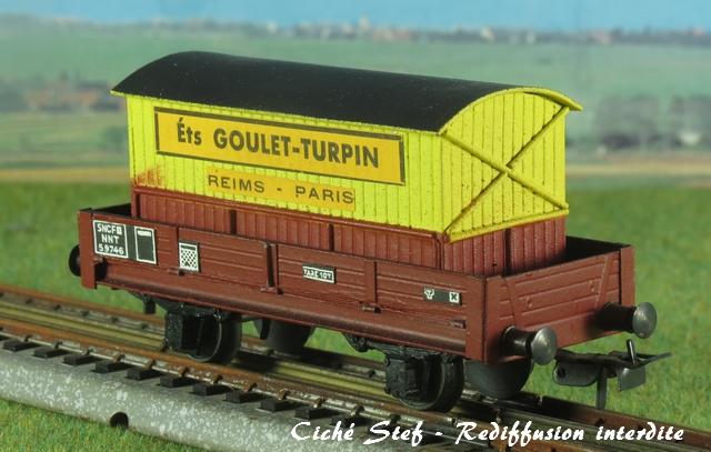 Wagons plats 2 ess maquette et semi maquette chargés par ordre alphabetique VB_plat_ess_maquette_cadre_bois_Goulet_Turpin_IMG_4534_R