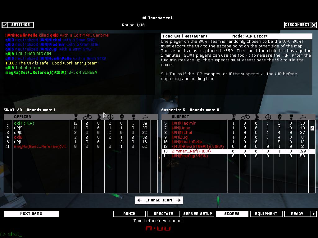 qR| vs |WM| - 2nd Semifinal ~ 6 - 3   Shot00005