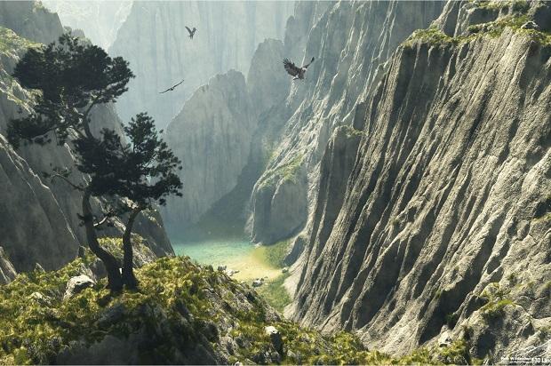 where_the_eagles_fly_gory_priroda_ptitsa_vodoiom
