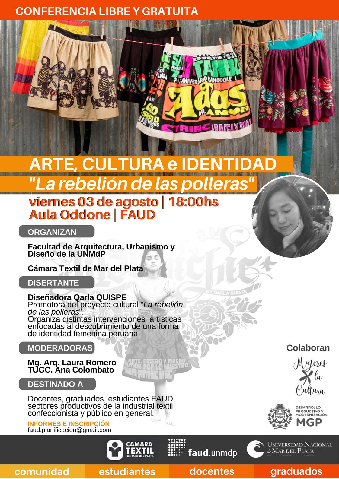 """Ciclo Artes Plásticas FAUD 2018. Alicia Pellerano. Muestra """"Mujer-Cosa"""""""
