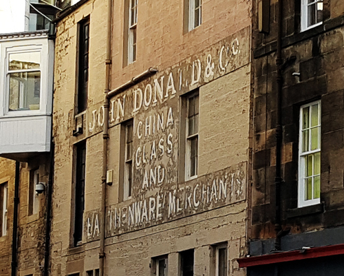 Ghost signs haunt our towns and cities with adverts from years gone by. With the decline of brick built buildings, will ghost signs eventually fade away?