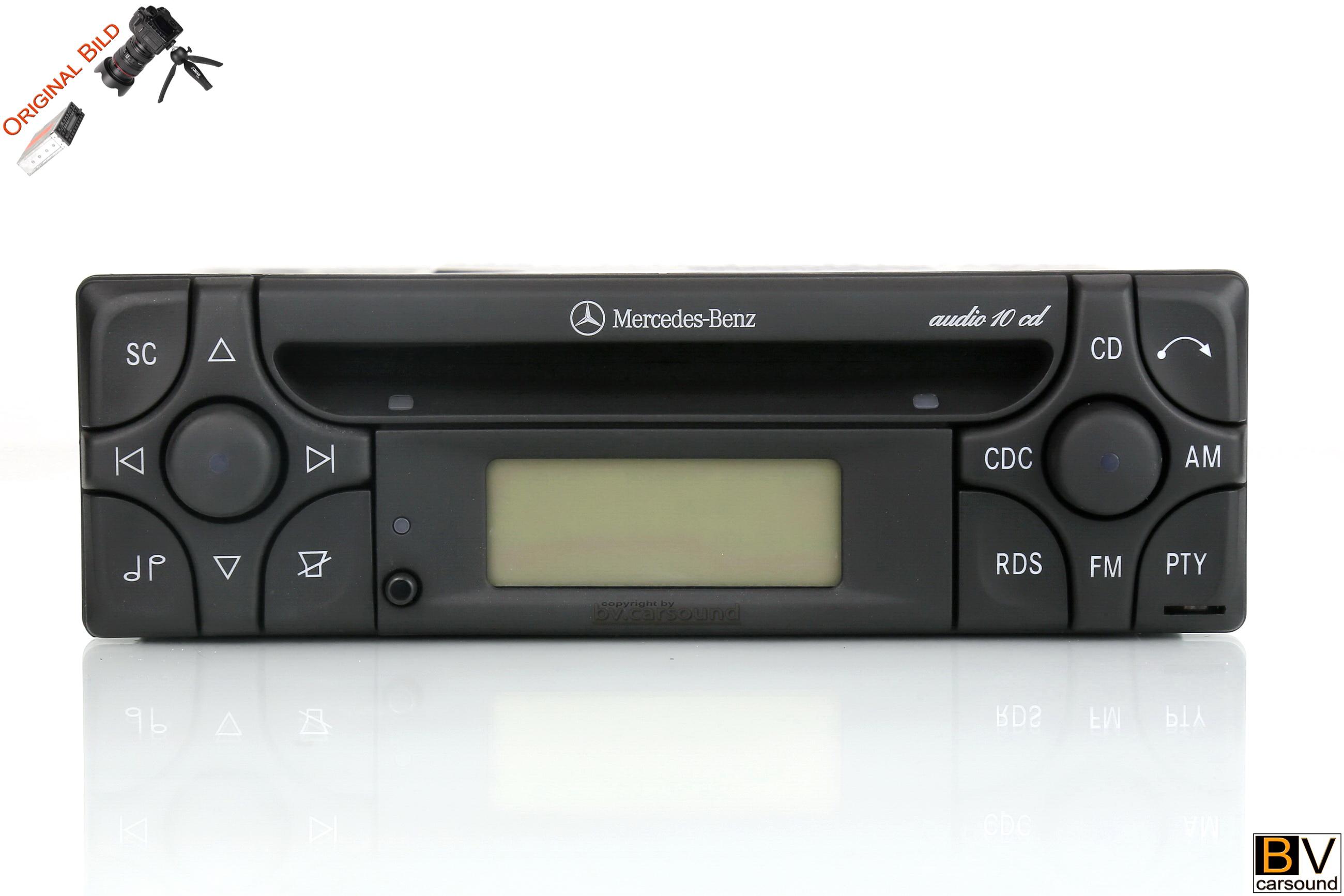 Mercedes Benz Audio 10 CD Alpine MF2199 mit AUX Eingang R170 R129