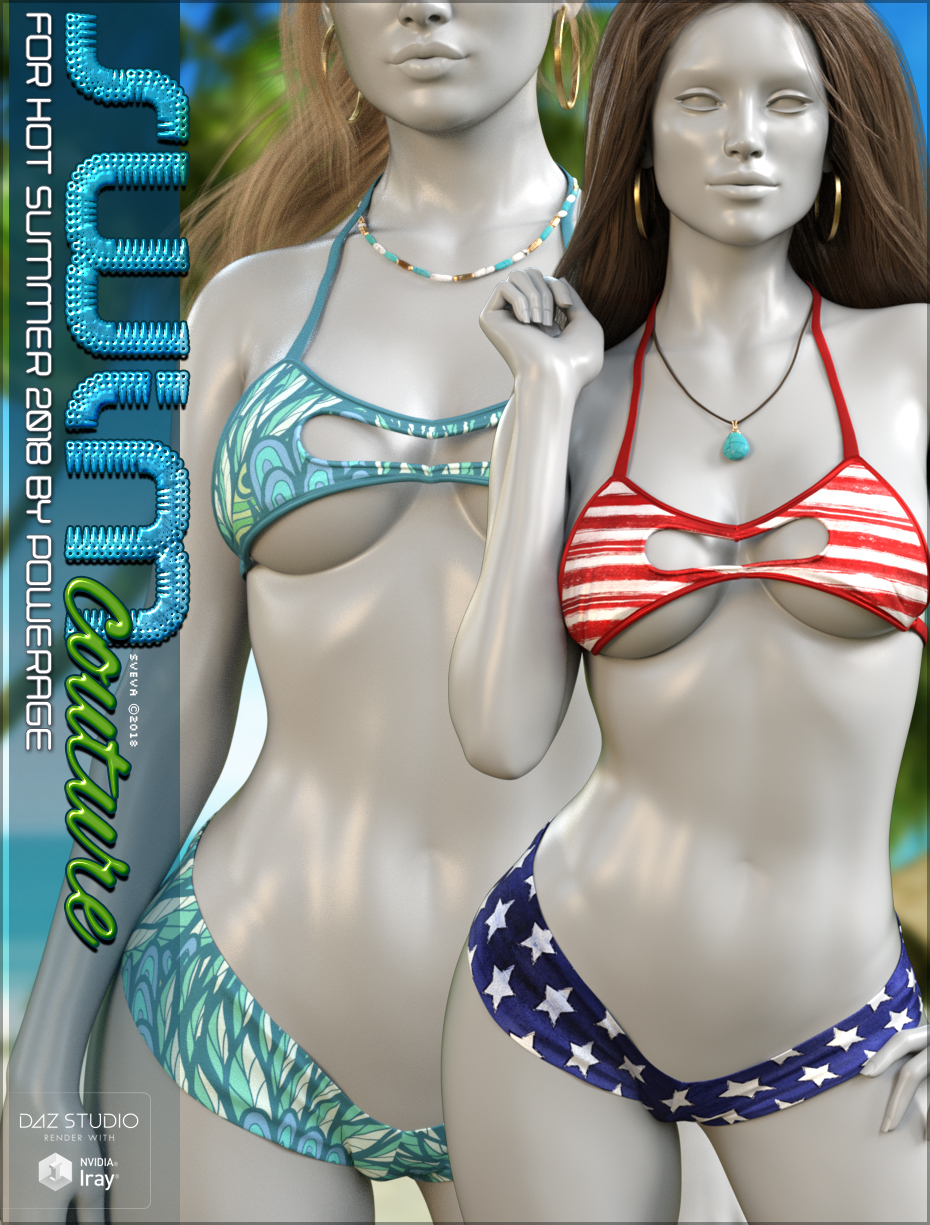 Swim Couture for Hot Summer 2018 G8F