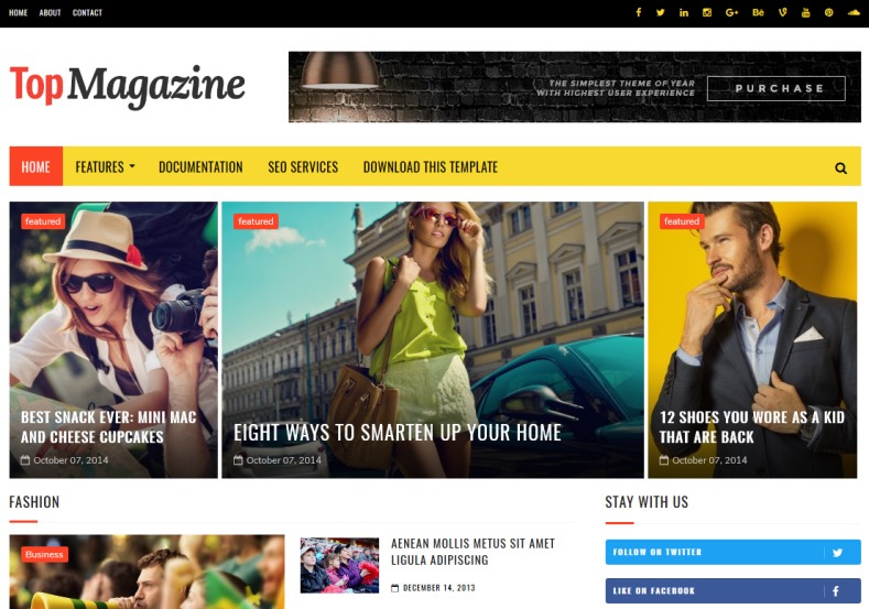 Top_Magazine_Blogger_Template