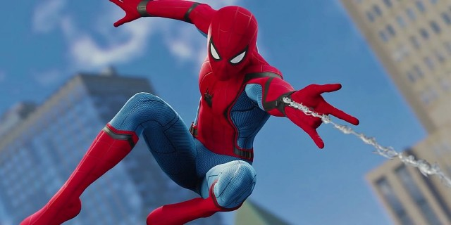 SPIDER-MAN: FAR FROM HOME Set Video Shows The Wall-Crawler's New Black Suit In Action