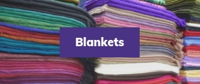 blankets for victims of natural disasters