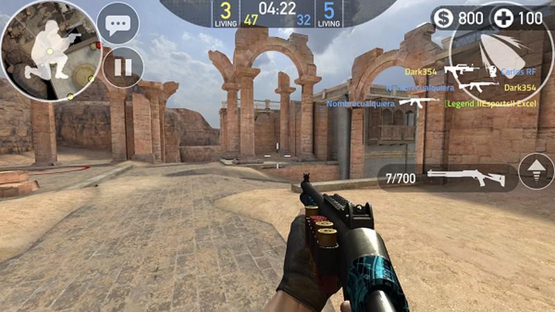 Forward Assault - Game bắn súng siêu đồ họa của Mobile tung hàng loạt súng mới