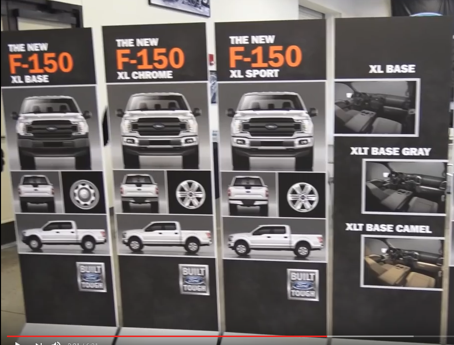 2018 F150 OEM Grill & Wheel Options | Press Event Screen Captures - Ford F150 Forum - Community ...