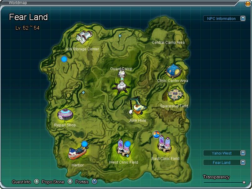 Fear Land aberto