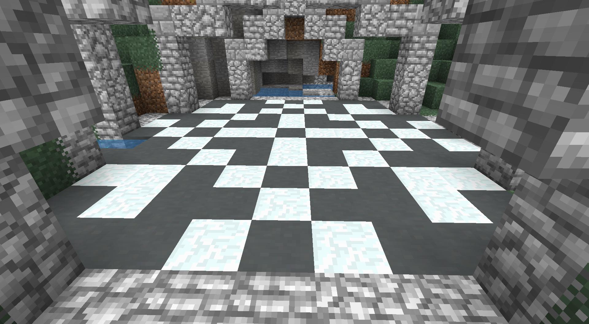 Snowflake without glazed terracotta